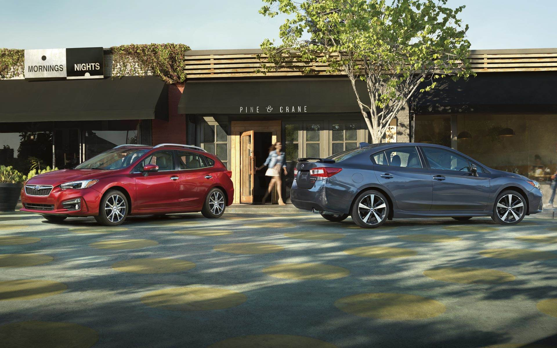 2017 subaru impreza sedan and hatchback