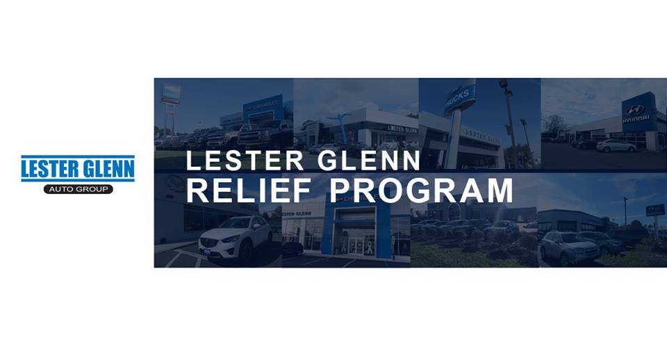 Lester Glenn Auto Group Government Shutdown Relief Program
